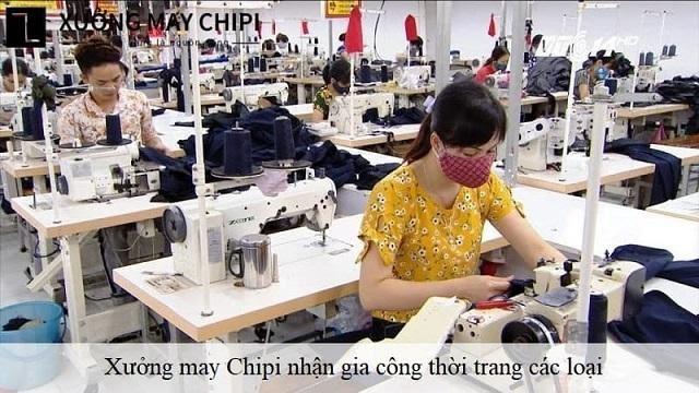 Xưởng may Chipi là xưởng may sỉ đầm thiết kế